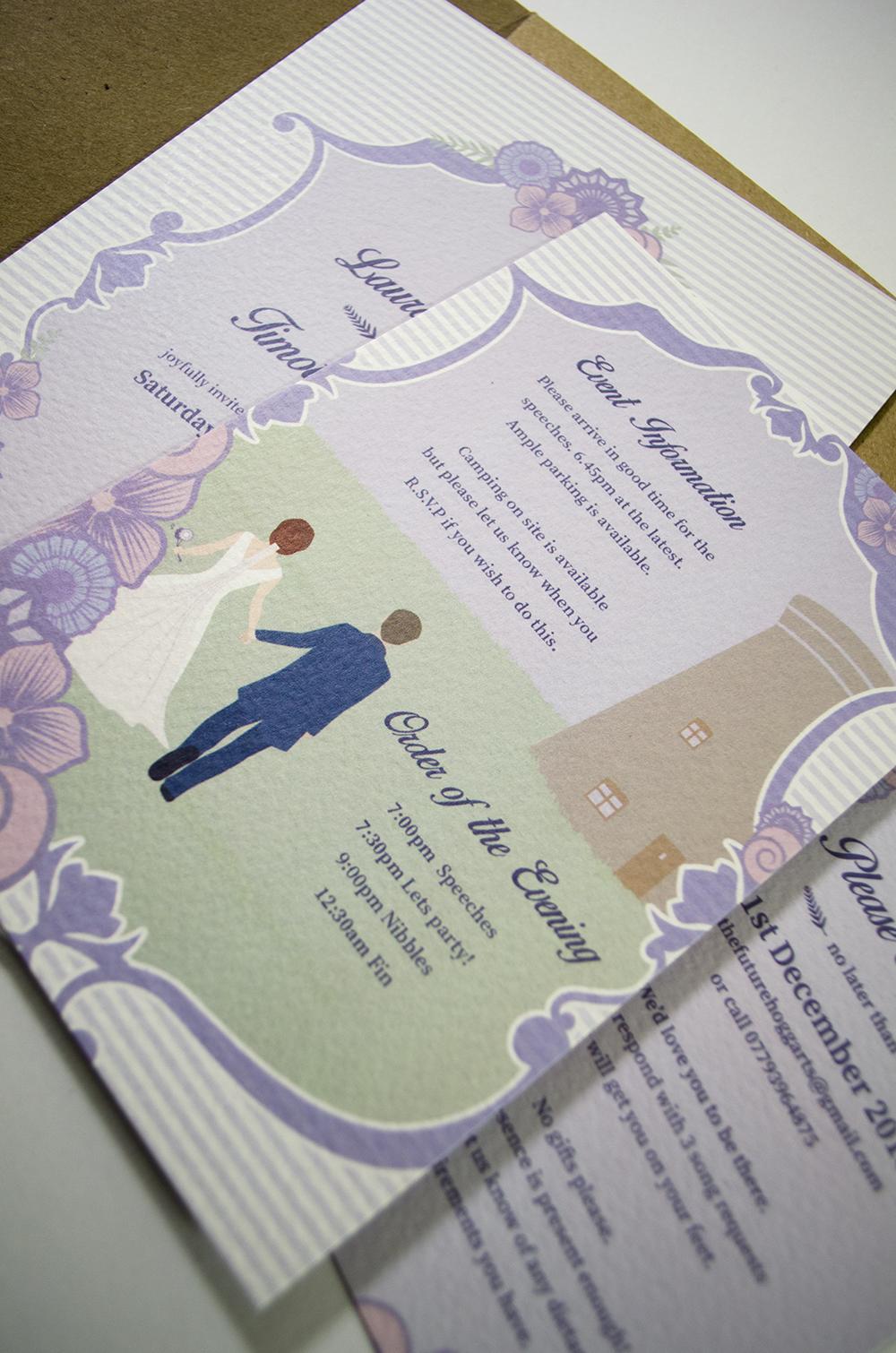 Wedding Invitations - Emma Saynor Graphic Design & Illustration